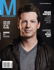 Metrosource magazine, NYC, LGBTQ, Gay Media, Sean hayes