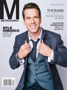 Thomas Roberts, Metrosouce magazine, LGBTQ, Media, Gay media